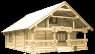 Деревянные дома из бруса в Беларуси