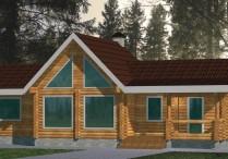 Деревянный дом Александра