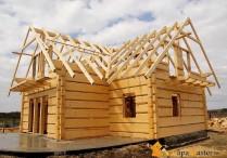 Дома из бруса и особенности их строительства