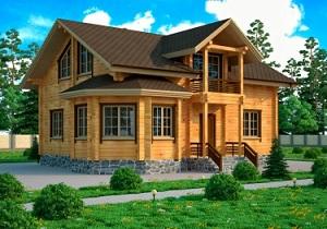 дом из бруса от компании УютЭкоДом
