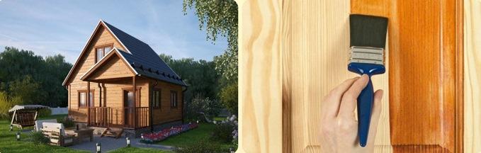 Как продлить срок службы деревянного дома